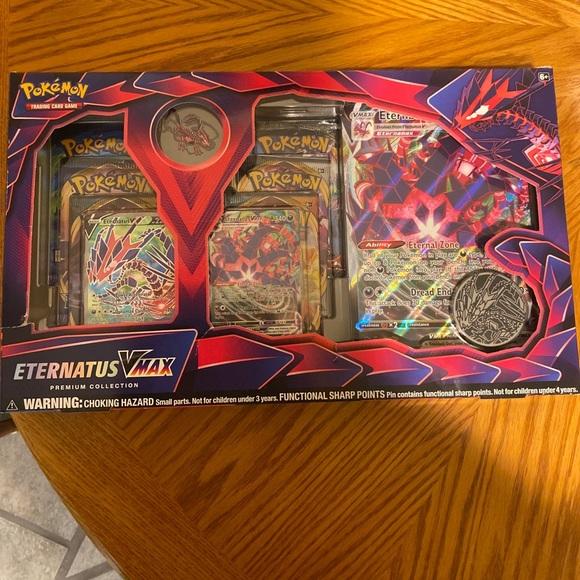 Pokemon Eternatus Vmax Premium Collection